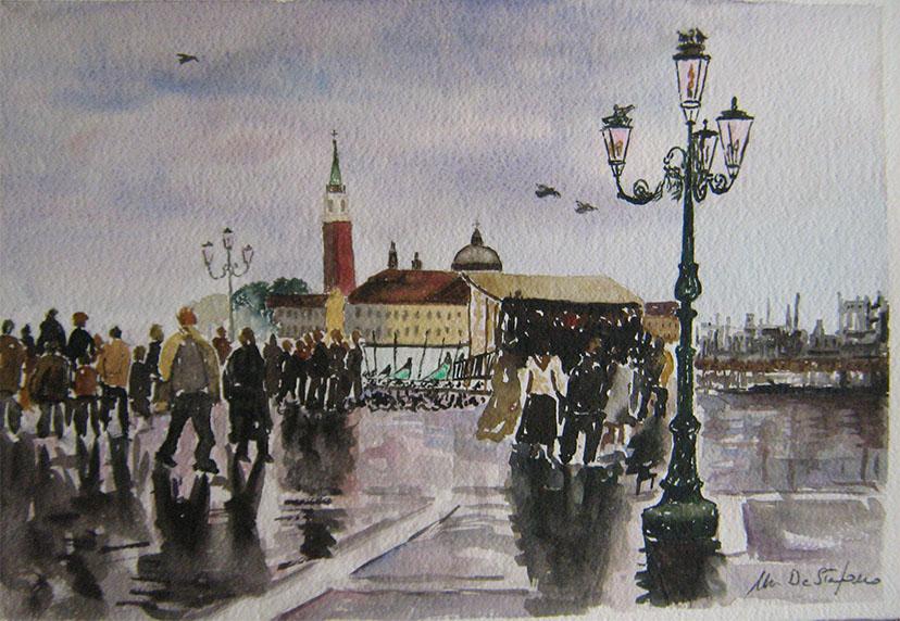 Venezia – Giornata piovosa cm 38×58
