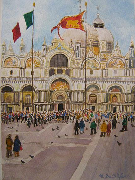 Venezia – Piazza San Marco cm 58×38